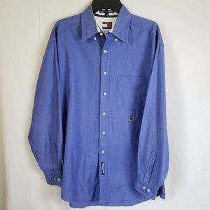 Vintage Tommy Hilfiger Dress Shirt Size 16 /34-35